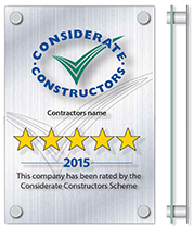 Company Star rated plaque v2