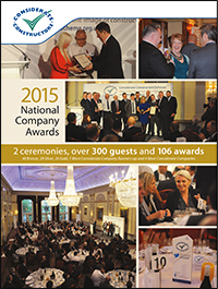 Company Awards winners brochure