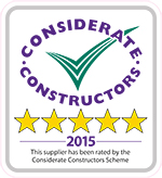 Supplier star rated vehicle sticker outlined 150