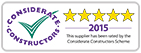 Supplier star rated window sticker outlined hr 141