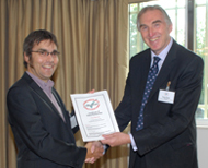 Partner accepting certificate