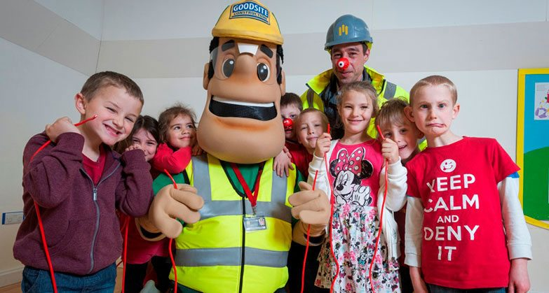 10% off Ivor Goodsite promotional site sign in support of Red Nose Day