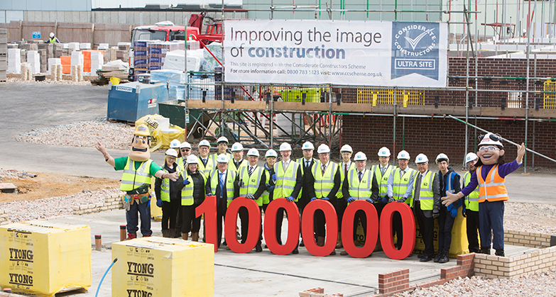 Scheme reaches major 100,000 milestone