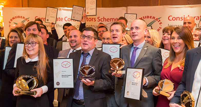 UK construction companies and suppliers triumph at National Awards