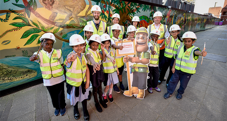 It's time to get creative! Entries now open for Ivor Goodsite Hoarding Competition