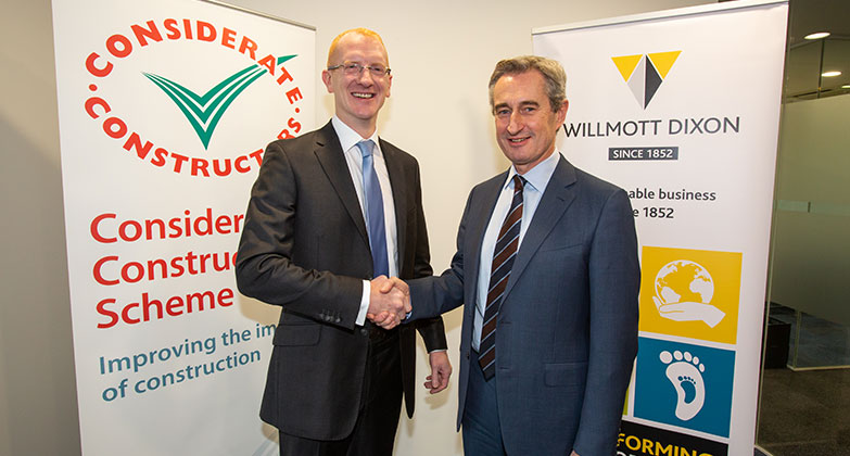 Industry first as Willmott Dixon encourages supply chain to join Scheme